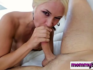 blonde,mommy,tempted