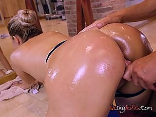 oiled,ballerina,excited