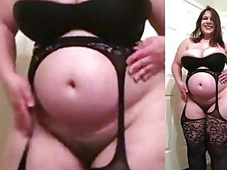 bbw,tits,stockings