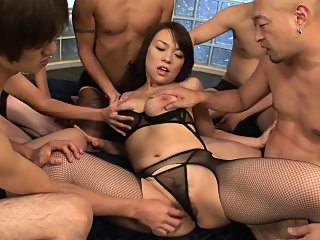 asian,fingering,group sex