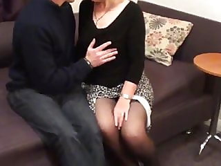 mature,stockings,cuckold