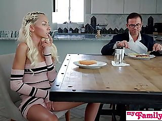 blonde,blowjob,creampie