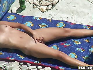 beach,hidden camera,milf