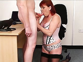 mature,handjob,facial