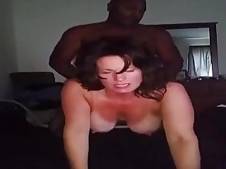 brunette,mature,interracial