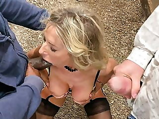 sharing mature hot! wife with bbc! - blackedpl,,