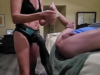 anal,blonde,sex toy