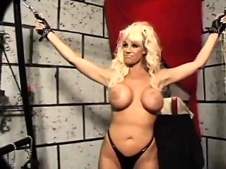 bdsm,big boobs,blonde