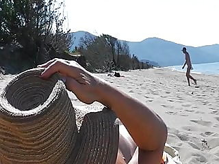 beach,fingering,masturbation
