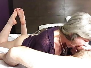blowjob,close-up,granny