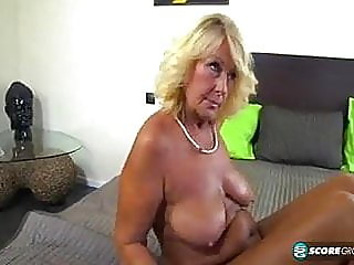 blonde,close-up,granny