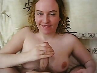 handjob,facial,british