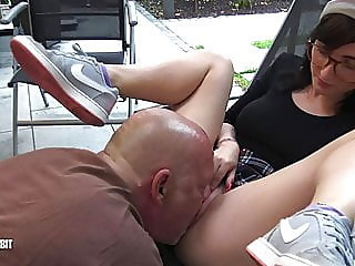 outdoor,cunnilingus,eating pussy