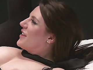 brunette,cumshot,stockings