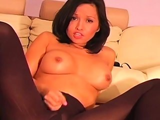 big boobs,brunette,masturbation