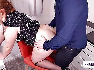 office slut takes calls getting ass fucked - shannonheels,,