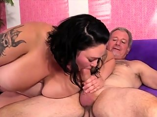 bbw,big boobs,blowjob