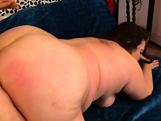 bbw,brunette,doggystyle