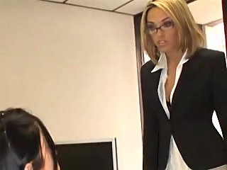 office,secretary,group sex