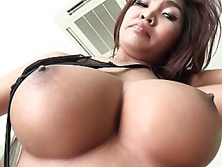 asian,big boobs,creampie
