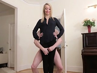 blonde,cfnm,fetish