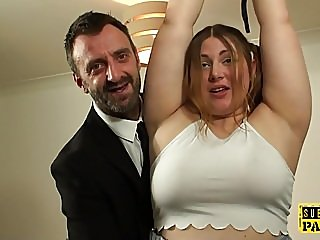 big boobs,bondage,luke hardy