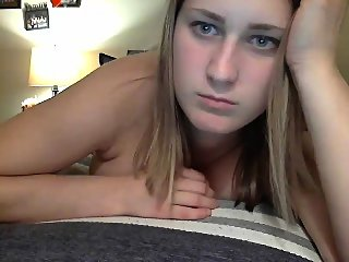 amateur,blonde,solo