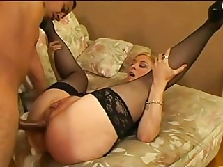 anal,blondes,stockings