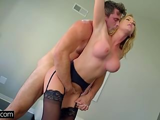 mommy,fucked,standing