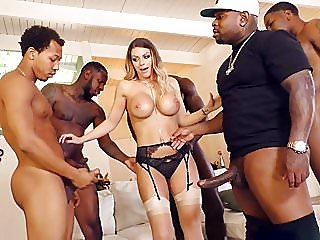 group sex,interracial,gangbang