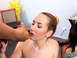 blowjob,facial,group sex