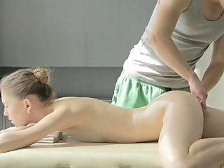 blonde,blowjob,massage