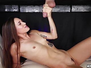 brunette,handjob,hd videos