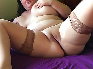 amateur,bbw,stockings