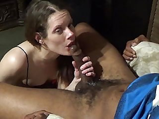 amateur,brunette,interracial
