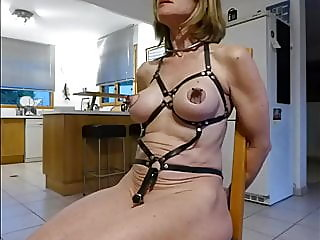 amateur,blonde,sex toy