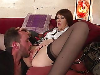 anal,mature,stockings