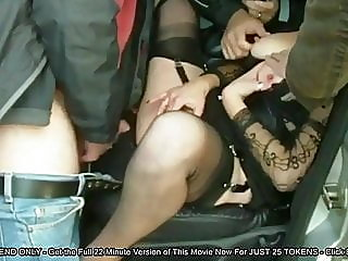 public nudity,group sex,stockings