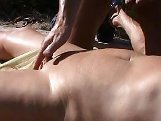 beach,fingering,mature