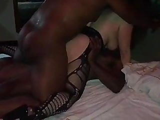 mature,stockings,interracial