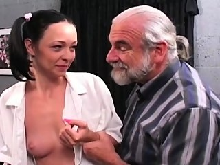 bdsm,brunette,old+young