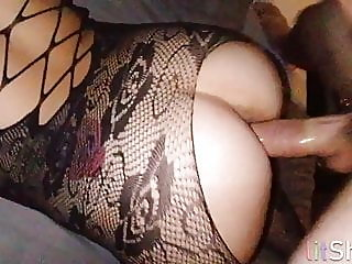 my husband jerks off while i get fucked by my lover,,