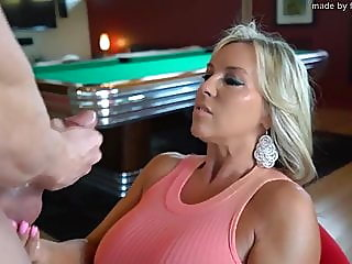 sandra's wants you to cum all over her face as hubby films.,,