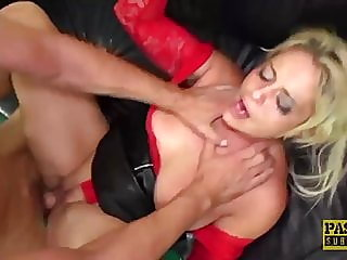 pascalssubsluts - milf kelly cummings fed cum after pounding,,