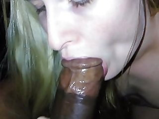 blonde,blowjob,interracial