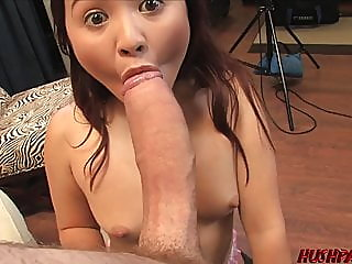 asian,blowjob,brunette
