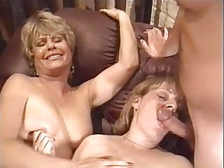 cumshot,vintage,stockings