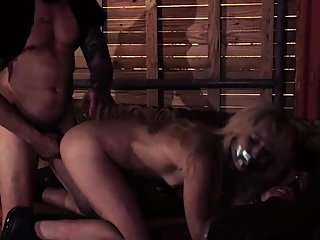 bdsm,blonde,blowjob