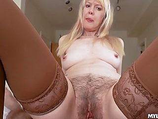 blonde,blowjob,hairy