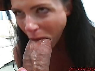 blowjob,facial,interracial